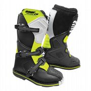 Shot K10 2.0 Youth MX Boots Black/White/Yellow
